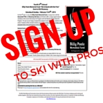 Sign-up to ski with Pros